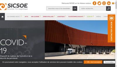 Site internet de Sicsoe