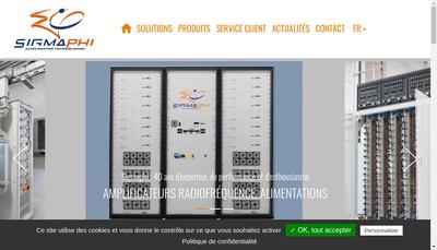 Site internet de Sigmaphi