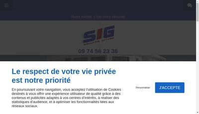 Site internet de Surveillance Interactive de Gardiennage