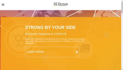 Site internet de Si Group- Bethune