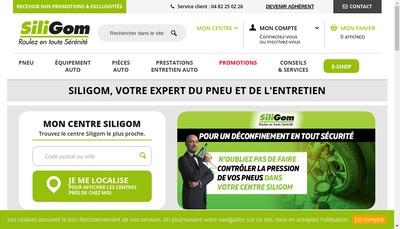 Site internet de SARL Ledo-Pneus