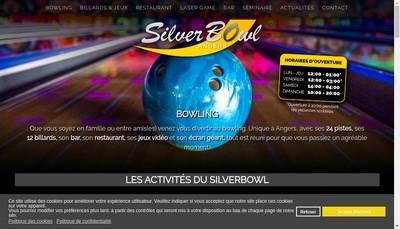 Site internet de Silver Bowl