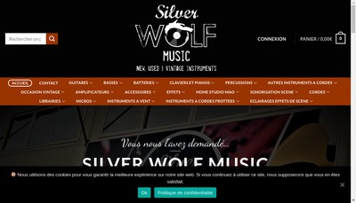 Site internet de Swm Distribution