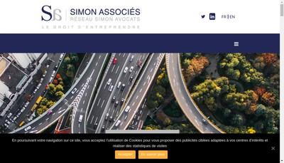 Site internet de Simon Associes