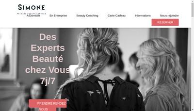 Site internet de Simone