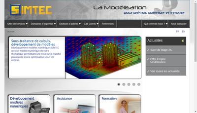 Site internet de Simtec