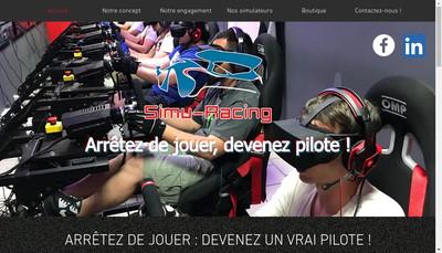 Site internet de Simu-Racing