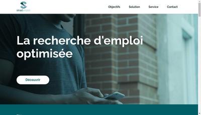 Site internet de Sinad Conseil