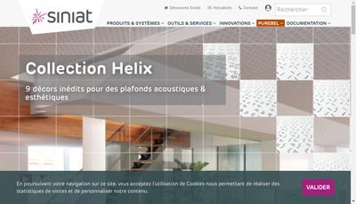 Site internet de Etex France Building Performance
