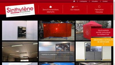 Site internet de Sinthylene