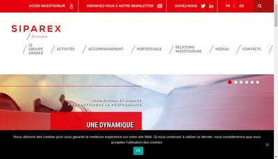 Site internet de Sigefi Private Equity