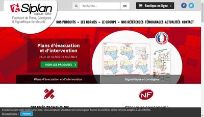 Site internet de Siplan Midi