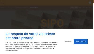 Site internet de Scierie Industrielle des Pyrenees Orientales