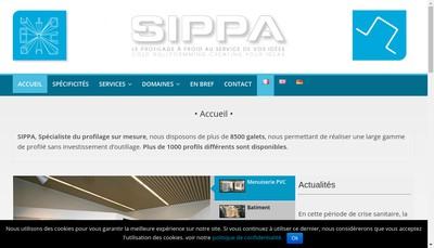 Site internet de SIPPA