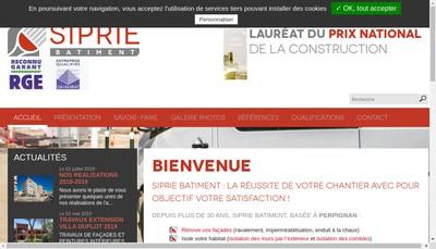 Site internet de Siprie