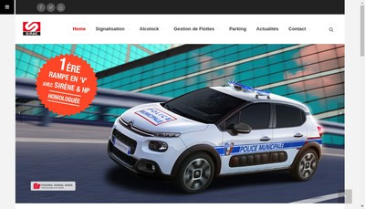 Site internet de Sirac
