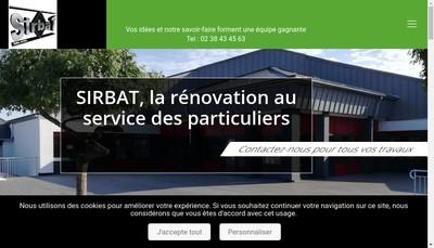 Site internet de Sirbat