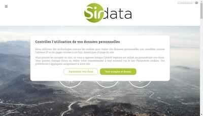 Site internet de Sirdata