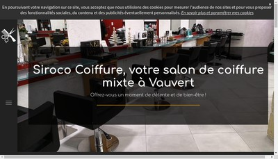 Site internet de Siroco