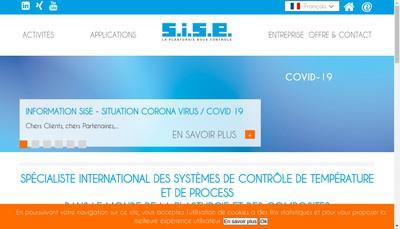 Site internet de Sise
