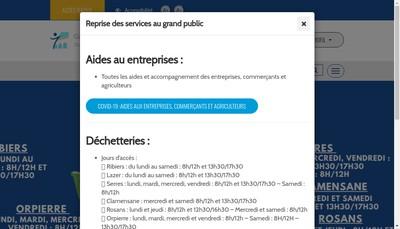 Site internet de Spl Sisteronais Buech