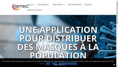 Site internet de Societe Informatique & Telematique Corse