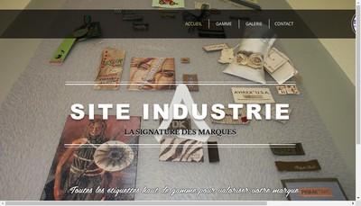 Site internet de Site Industrie