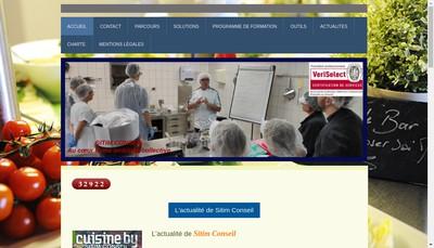 Site internet de Sitim Conseil