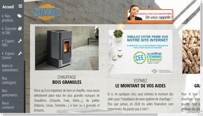 Site internet de Sivac