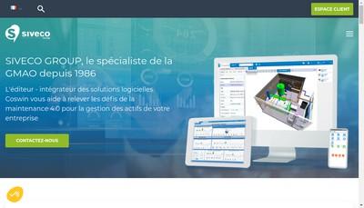 Site internet de Siveco Group