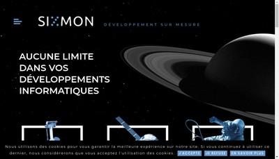 Site internet de Sixmon