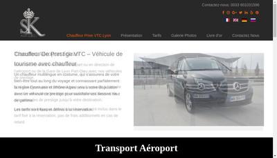 Site internet de Sk Autodeco