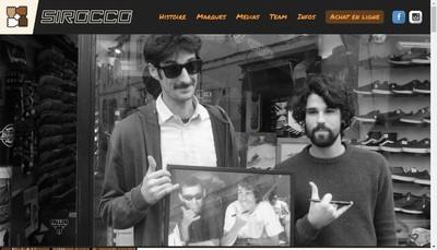 Site internet de Sirocco