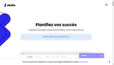 Site internet de Skello