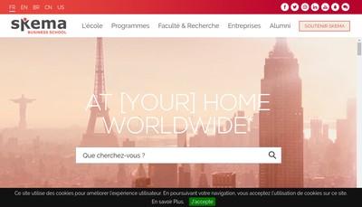 Site internet de Esc Lille