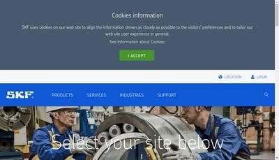 Site internet de Skf Aeroengine France