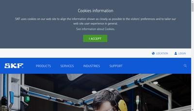 Site internet de Skf France