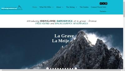 Site internet de Hotel des Alpes