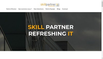 Site internet de Skill Partner