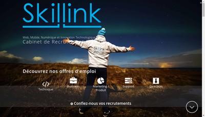 Site internet de Skillink