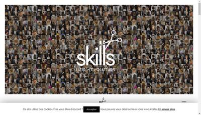 Site internet de Skills