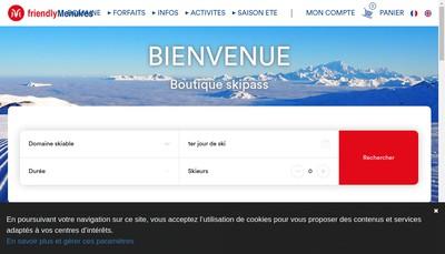 Site internet de Gare Telecabine Mont de la Chambre