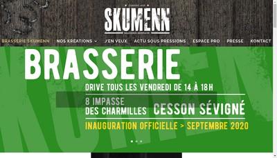 Site internet de Brasserie Skumenn