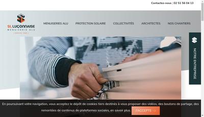 Site internet de Serrurerie Metallerie Luconnaise