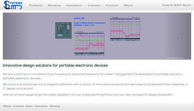 Site internet de Sl3J Systems