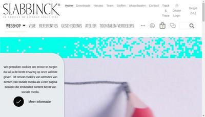 Site internet de Slabbinck France SARL