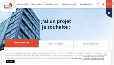 Site internet de Slci Transaction