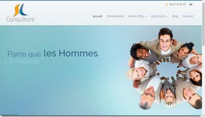 Site internet de SL Consultant