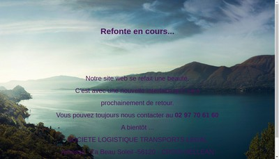 Site internet de SLT Legal