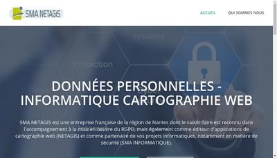 Site internet de Sma Netagis